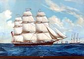 Ship Hebe, Norwegian emigrant ship