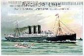 S/S Columbia (2), Anchor Line steamship