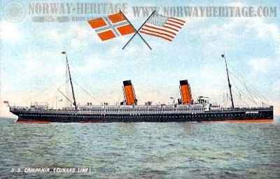 Campania Cunard Line