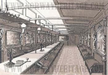 saloon ship images. Black Bedroom Furniture Sets. Home Design Ideas