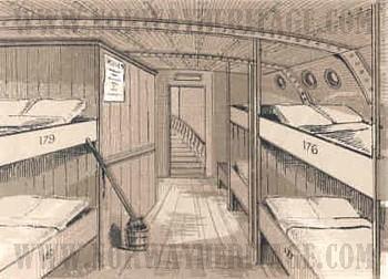 steerage ship images. Black Bedroom Furniture Sets. Home Design Ideas
