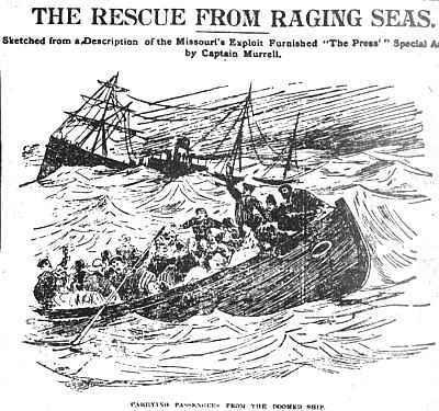S/S Danmark rescue