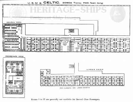 Photo Britannic Deck Plans Images Qe2 Plan