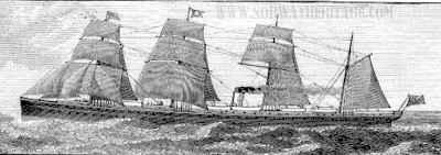 Atlantc, White Star Line steamshp