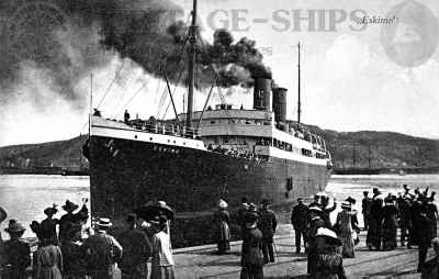 S/S Eskimo, Wilson line ship