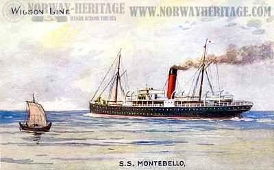 S/S Montebello, Wilson Line