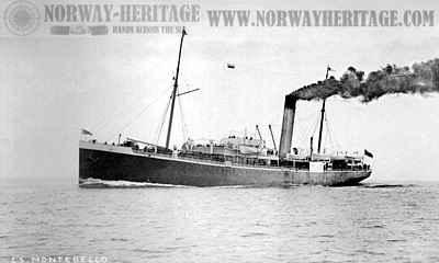 Montebello, Wilson Line steamship