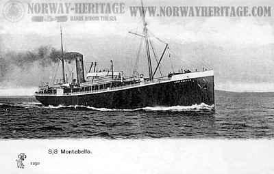Wilson Line steamer Montebello