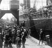 Emigrants departing Gothenburg