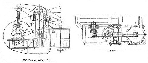 Side-lever type engine